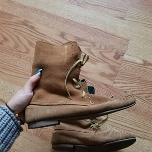 ❤ Steve Madden suede boots (2 ways to wear)
